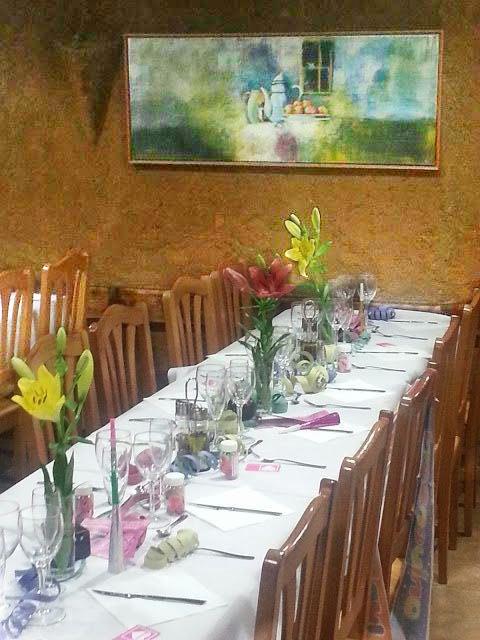Menú para grupos - Restaurante el Fogón